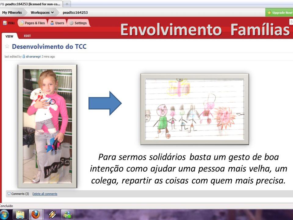 Envolvimento Famílias