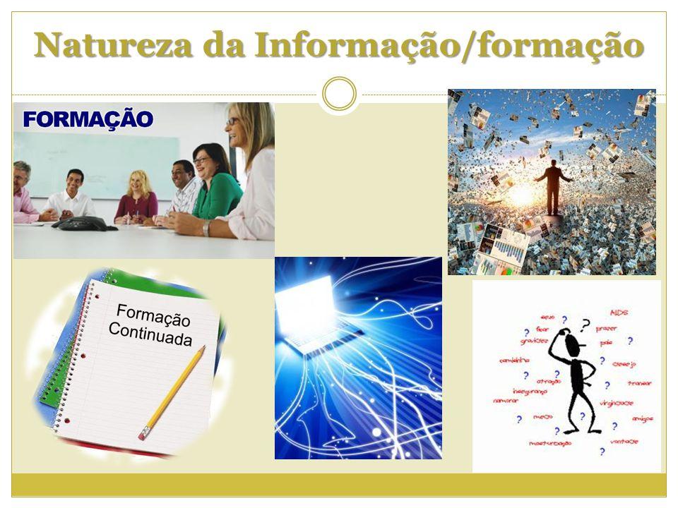 Natureza da Informação/formação