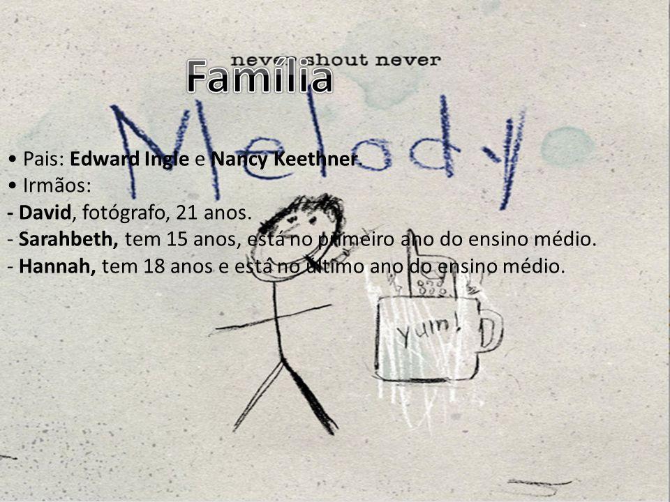 Família • Pais: Edward Ingle e Nancy Keethner. • Irmãos: - David, fotógrafo, 21 anos.