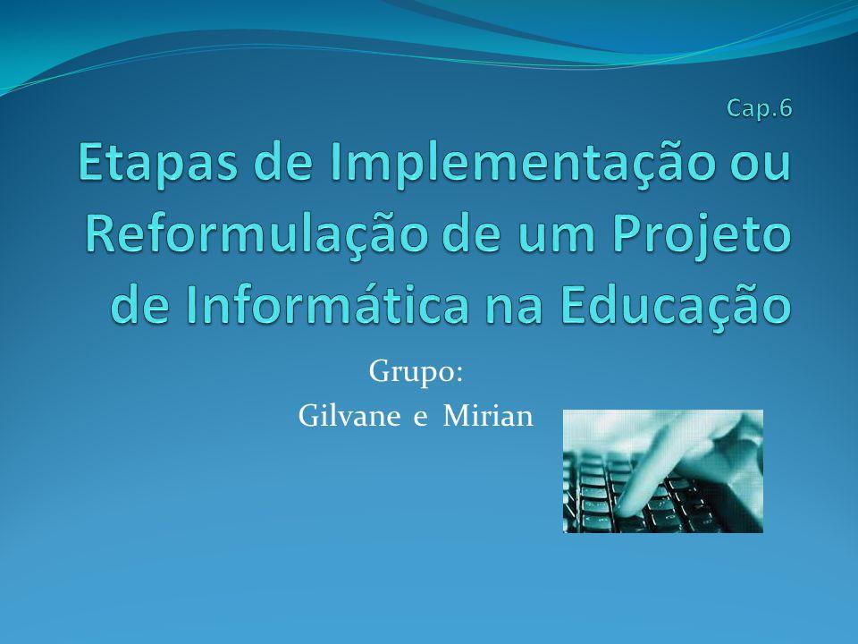 Grupo: Gilvane e Mirian
