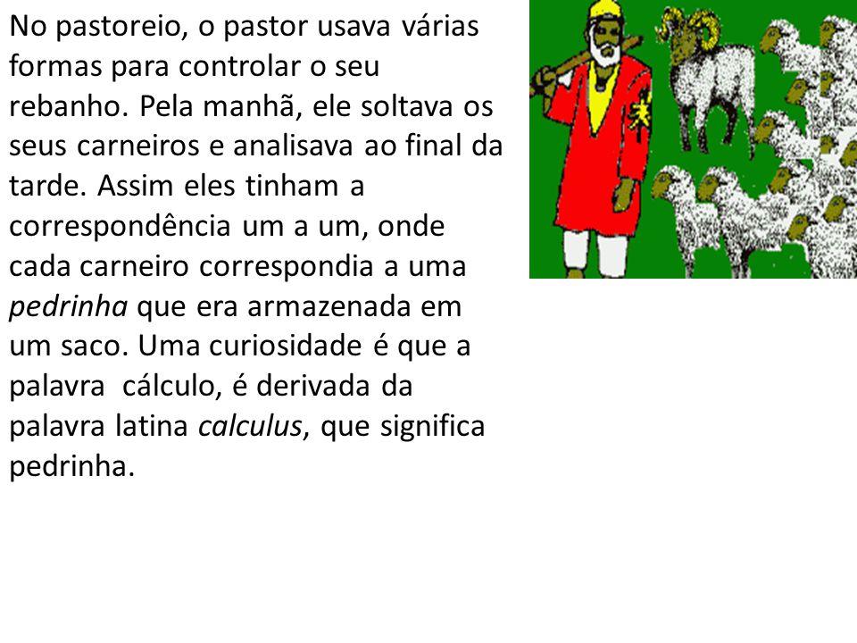 No pastoreio, o pastor usava várias formas para controlar o seu rebanho.