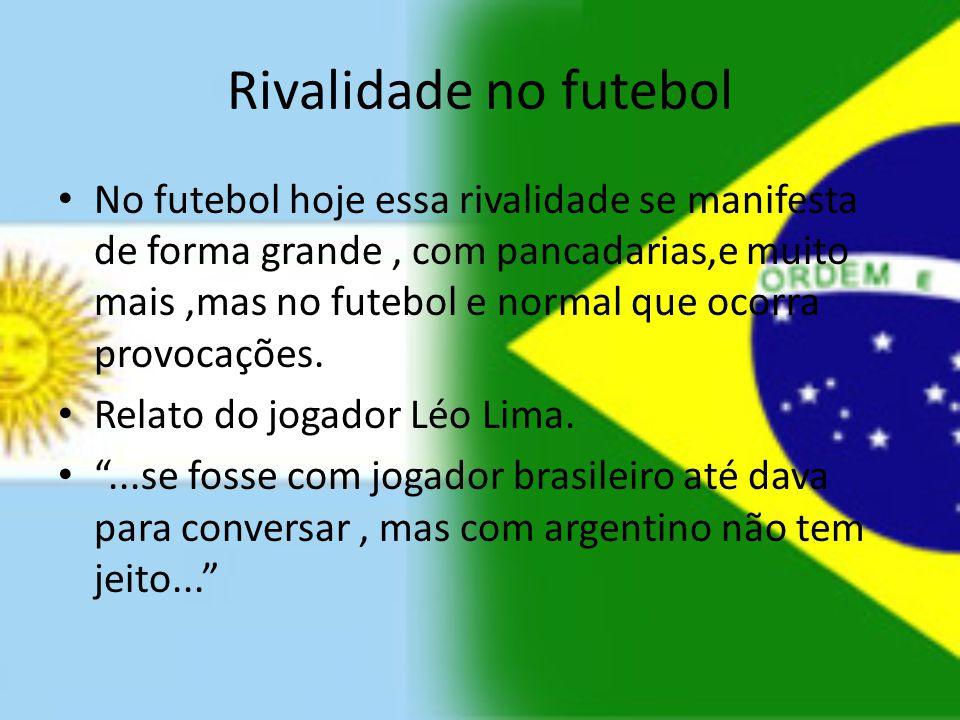 Rivalidade no futebol
