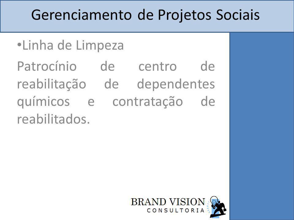 Gerenciamento de Projetos Sociais