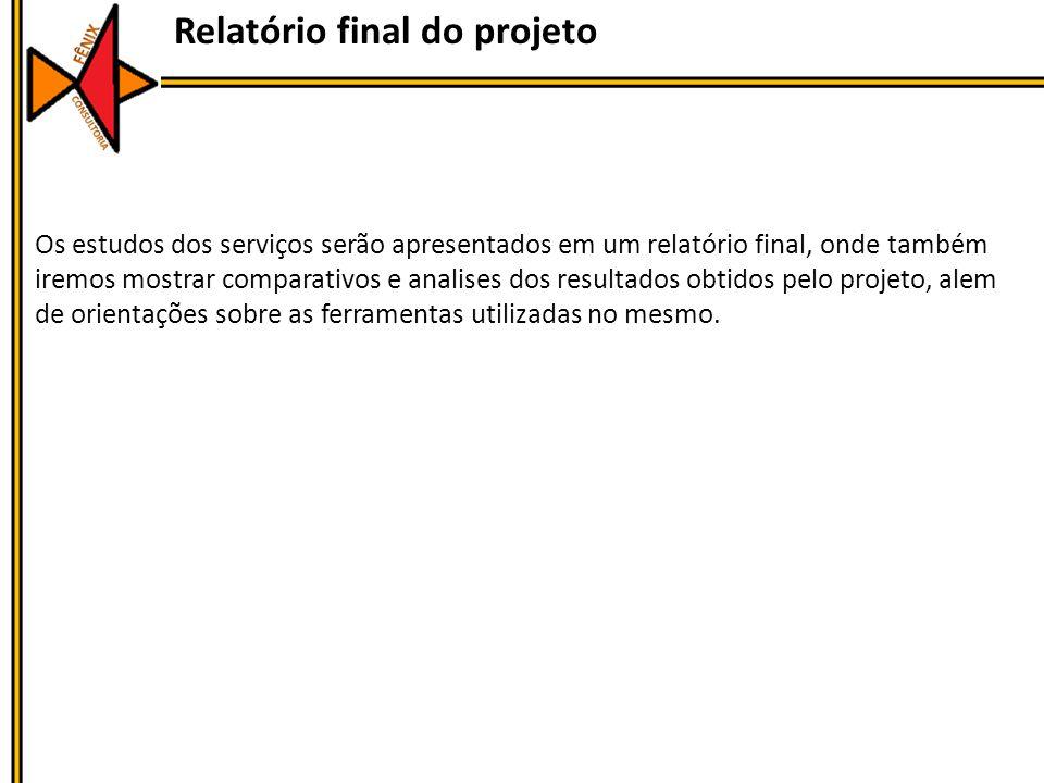 Relatório final do projeto
