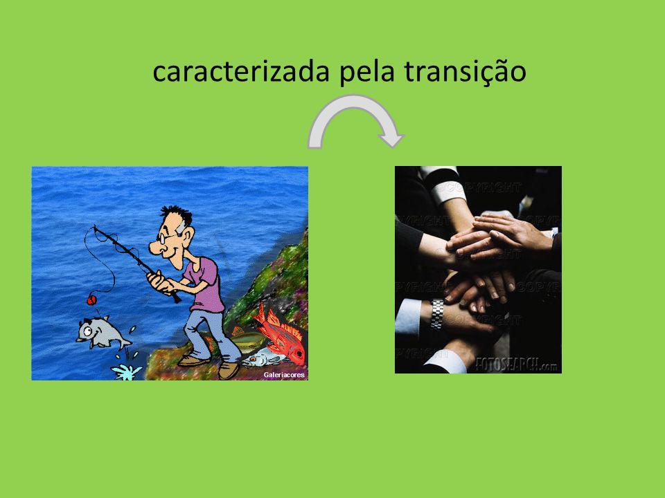 caracterizada pela transição