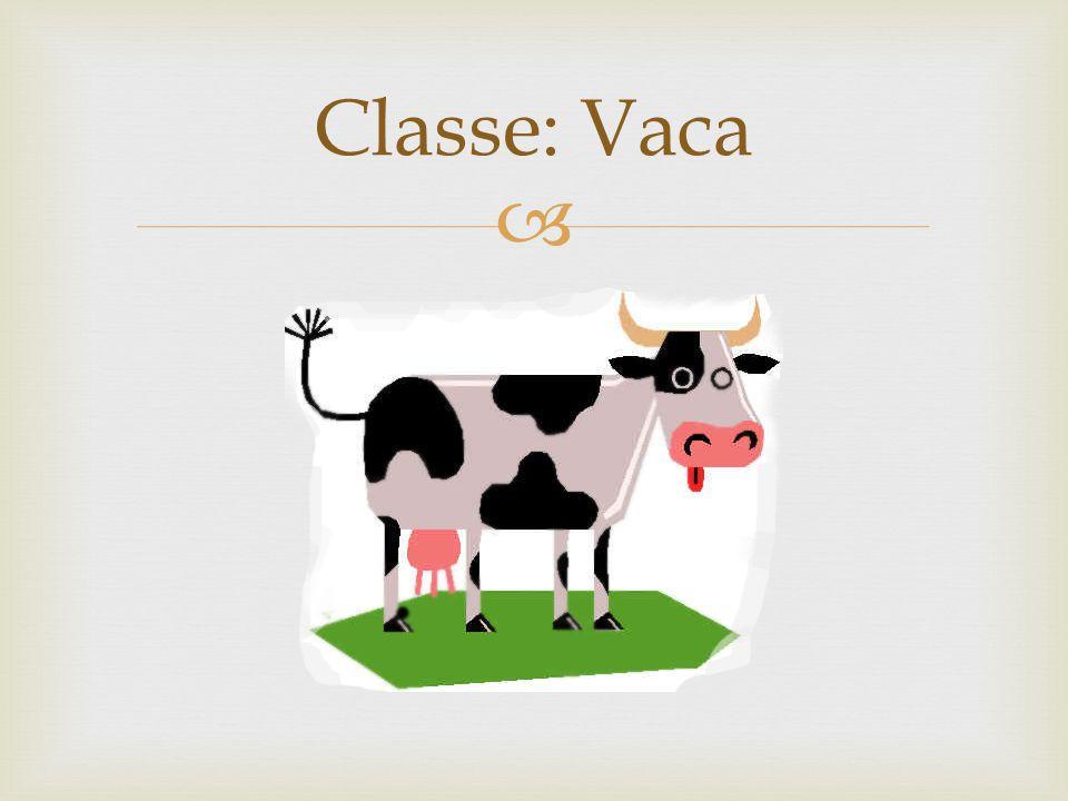 Classe: Vaca