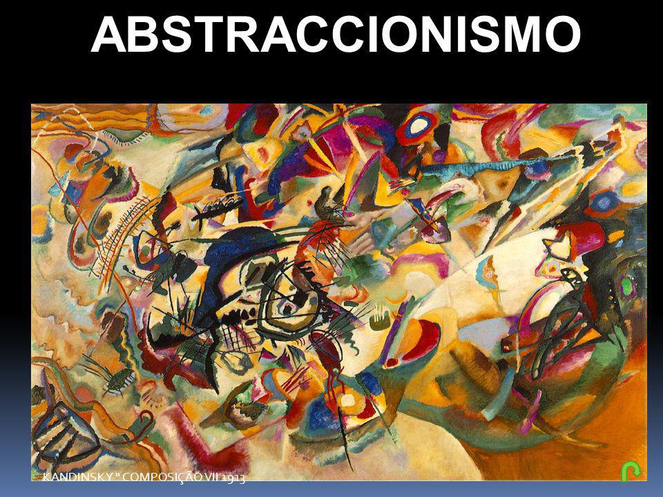 ABSTRACCIONISMO KANDINSKY COMPOSIÇÃO VII 1913