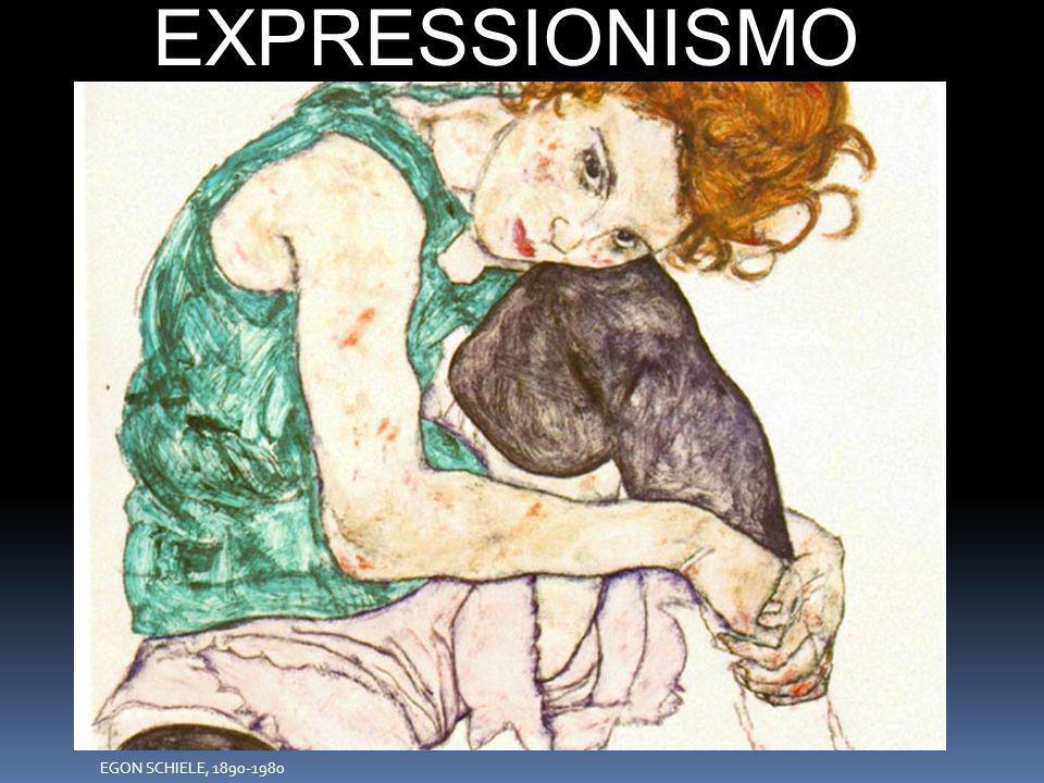 EXPRESSIONISMO EGON EGON SCHIELE, 1890-1980