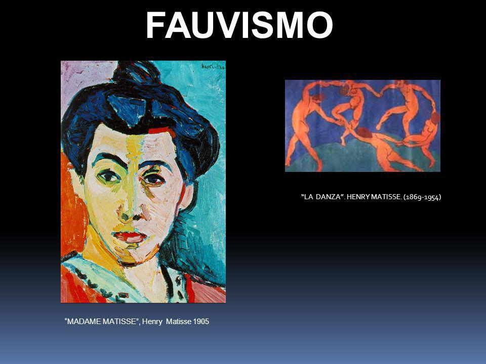 FAUVISMO LA DANZA . HENRY MATISSE. (1869-1954)