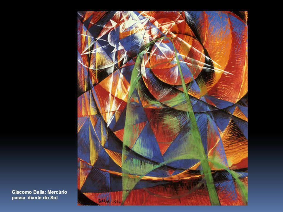 Giacomo Balla: Mercúrio passa diante do Sol