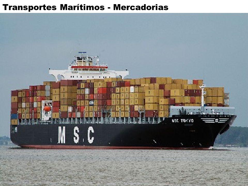 Transportes Marítimos - Mercadorias