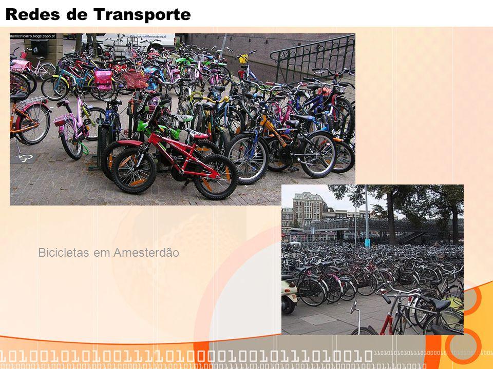 Redes de Transporte Bicicletas em Amesterdão