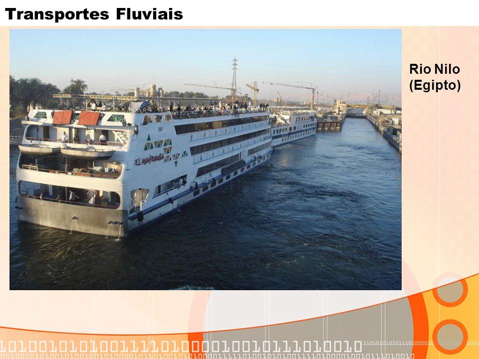 Transportes Fluviais Rio Nilo (Egipto)