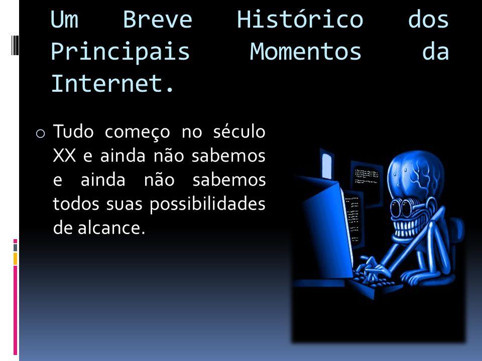 Um Breve Histórico dos Principais Momentos da Internet.