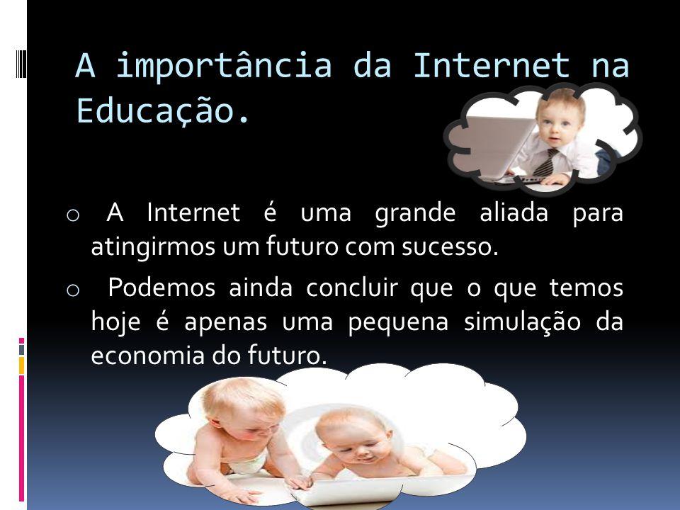A importância da Internet na Educação.