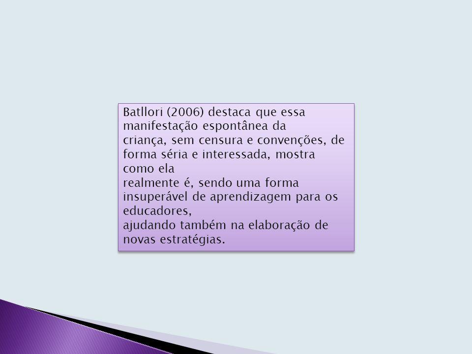 Batllori (2006) destaca que essa manifestação espontânea da