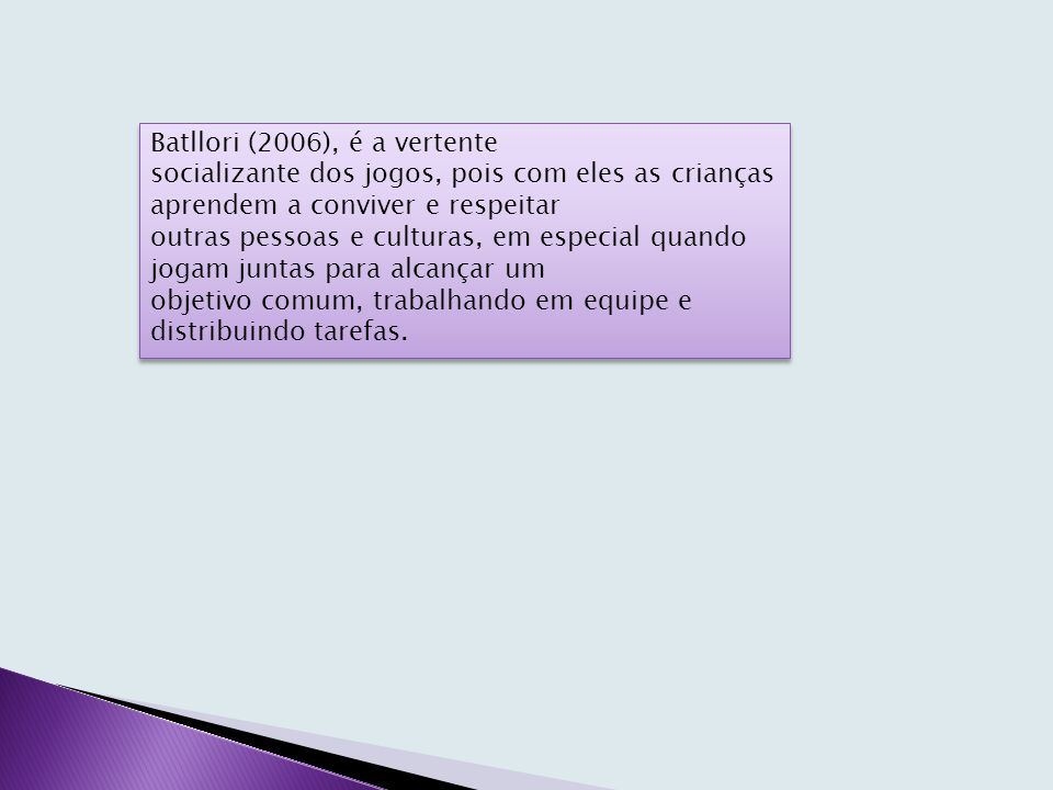 Batllori (2006), é a vertente