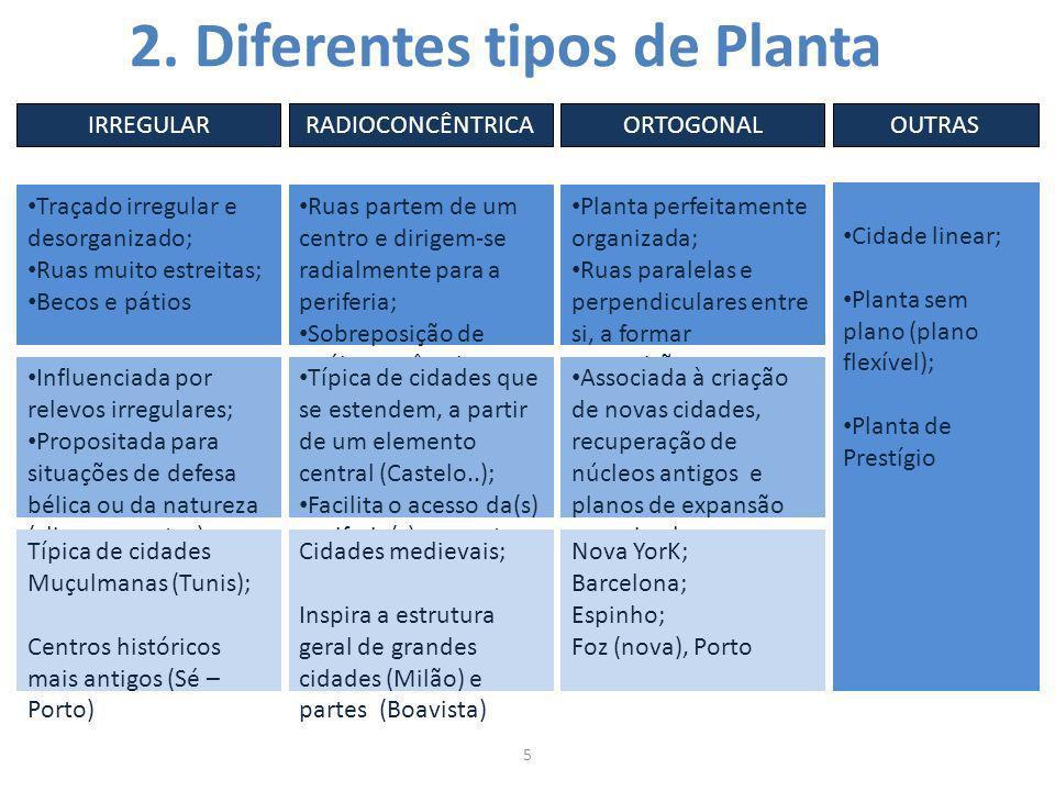 2. Diferentes tipos de Planta