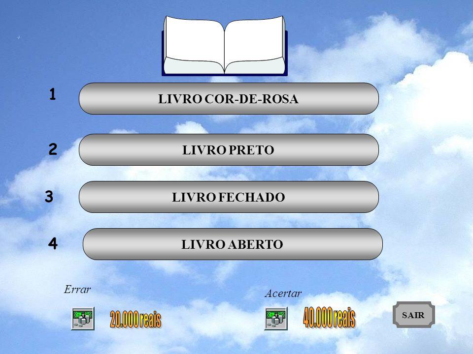 1 2 3 4 LIVRO COR-DE-ROSA LIVRO PRETO LIVRO FECHADO LIVRO ABERTO