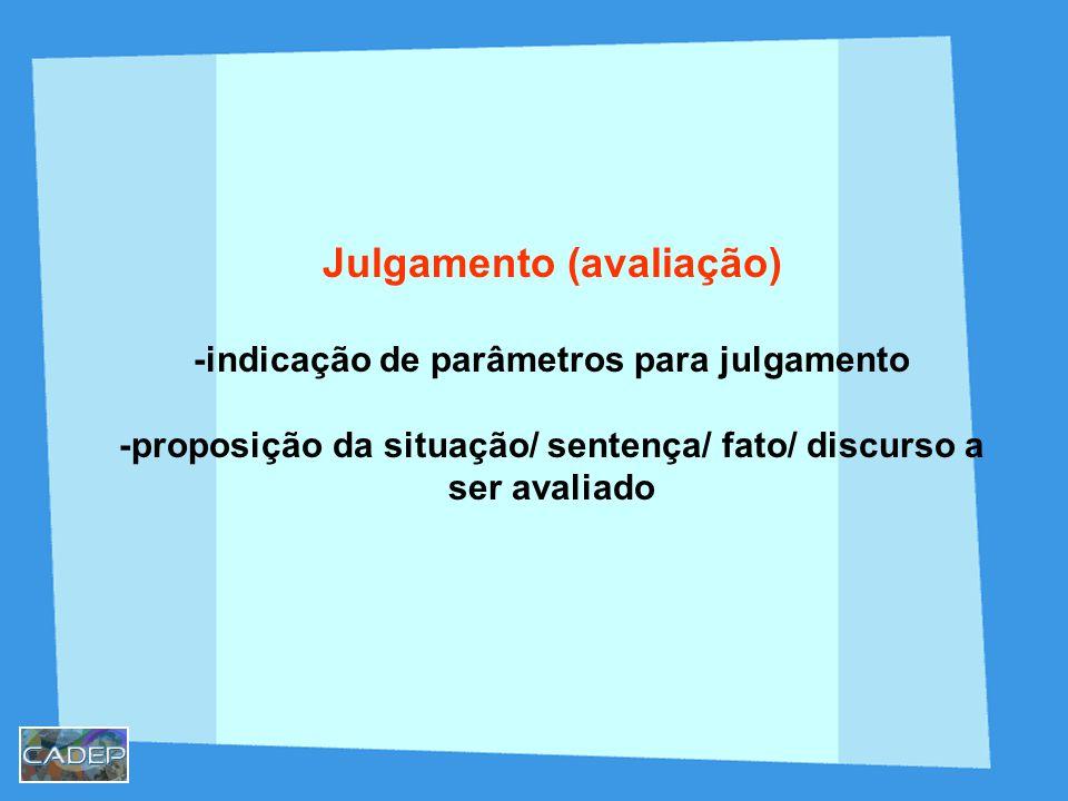 Julgamento (avaliação)