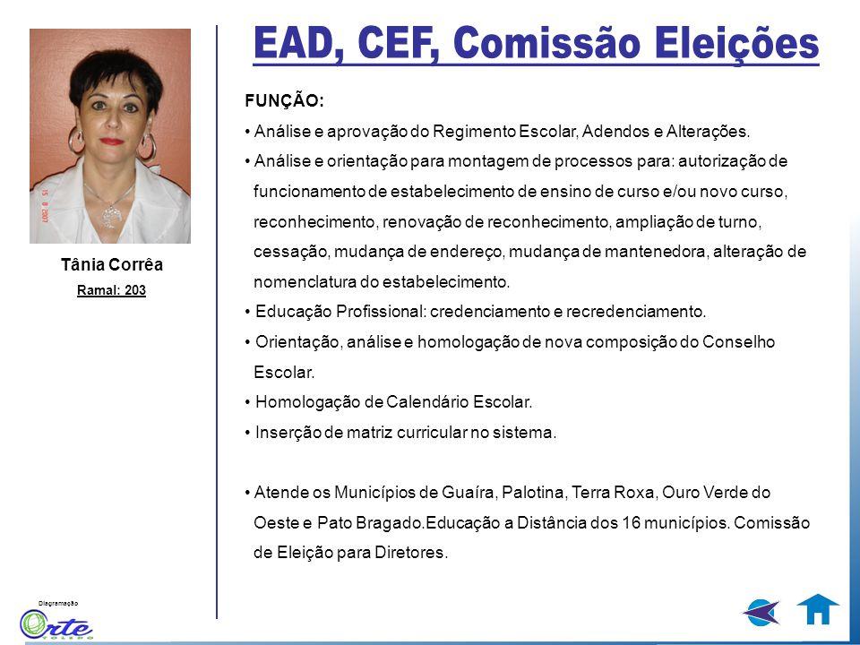 EAD, CEF, Comissão Eleições