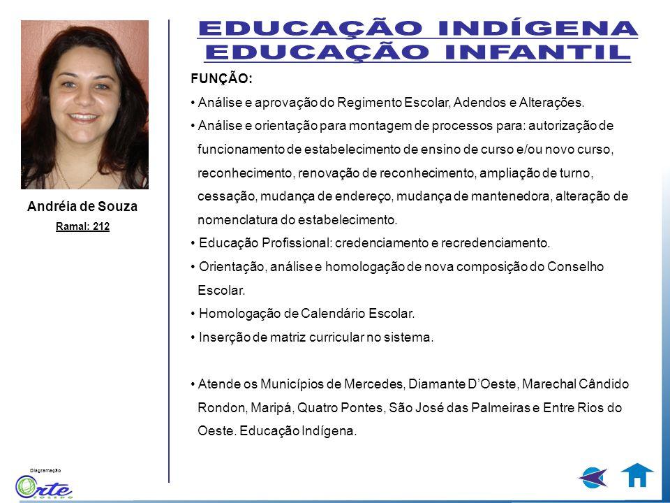 EDUCAÇÃO INDÍGENA EDUCAÇÃO INFANTIL FUNÇÃO:
