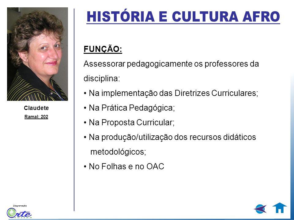 HISTÓRIA E CULTURA AFRO