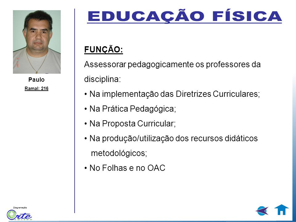 EDUCAÇÃO FÍSICA FUNÇÃO:
