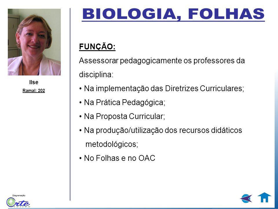 BIOLOGIA, FOLHAS FUNÇÃO: