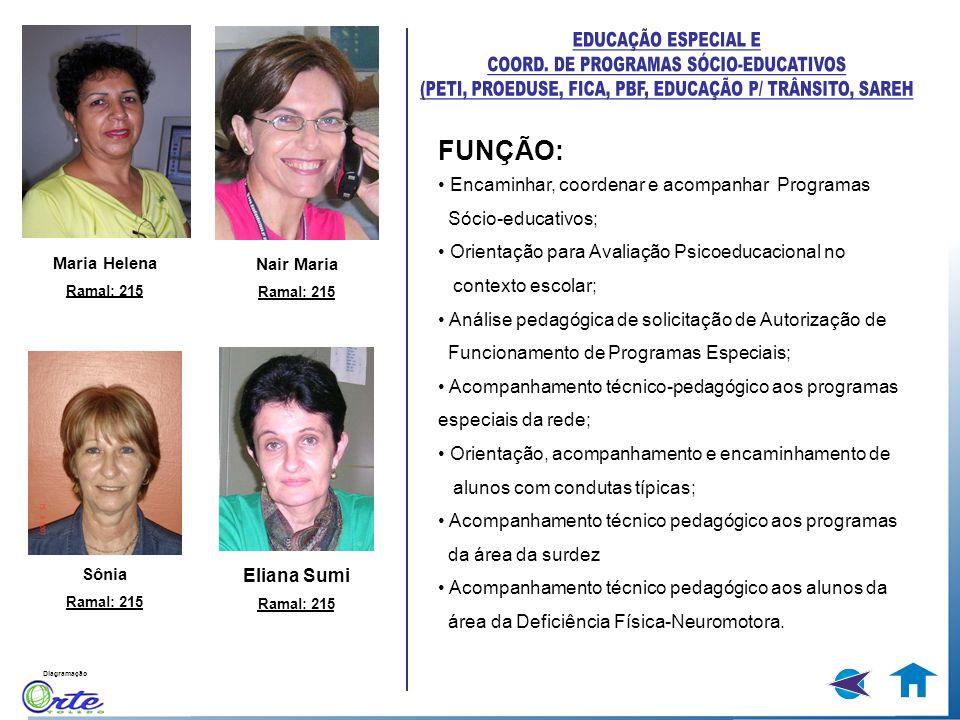 COORD. DE PROGRAMAS SÓCIO-EDUCATIVOS