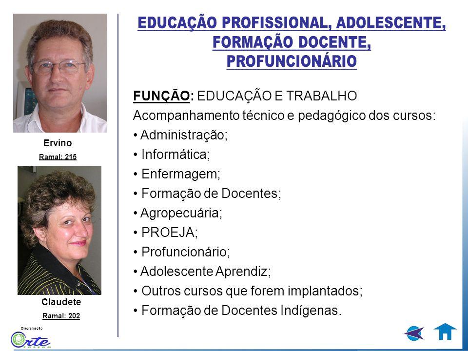 EDUCAÇÃO PROFISSIONAL, ADOLESCENTE,