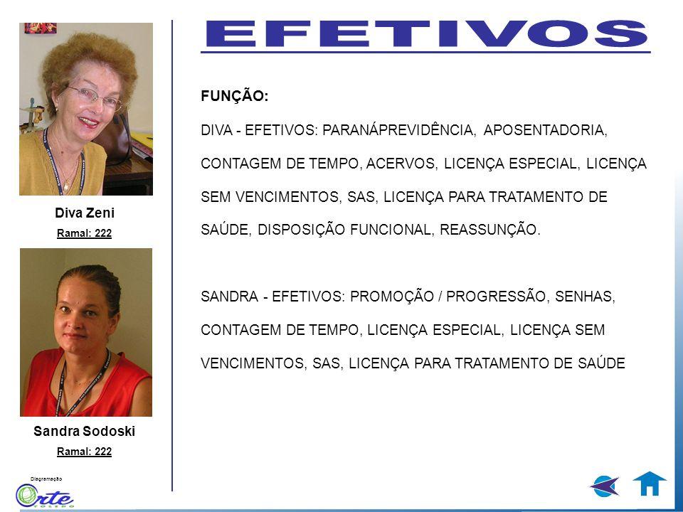 EFETIVOS FUNÇÃO: