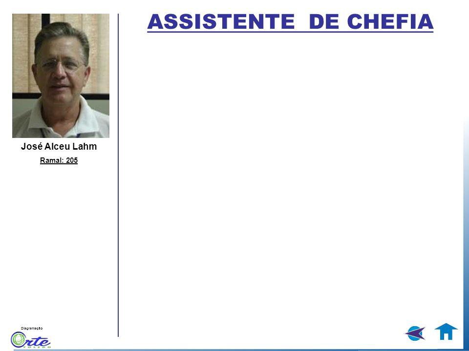 ASSISTENTE DE CHEFIA José Alceu Lahm Ramal: 205