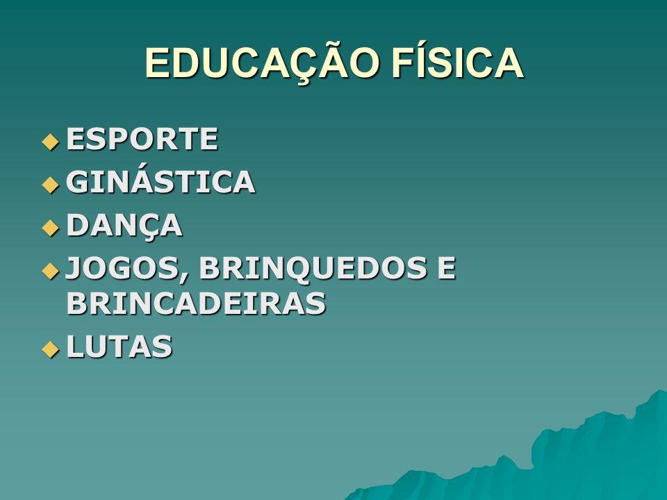 EDUCAÇÃO FÍSICA ESPORTE GINÁSTICA DANÇA