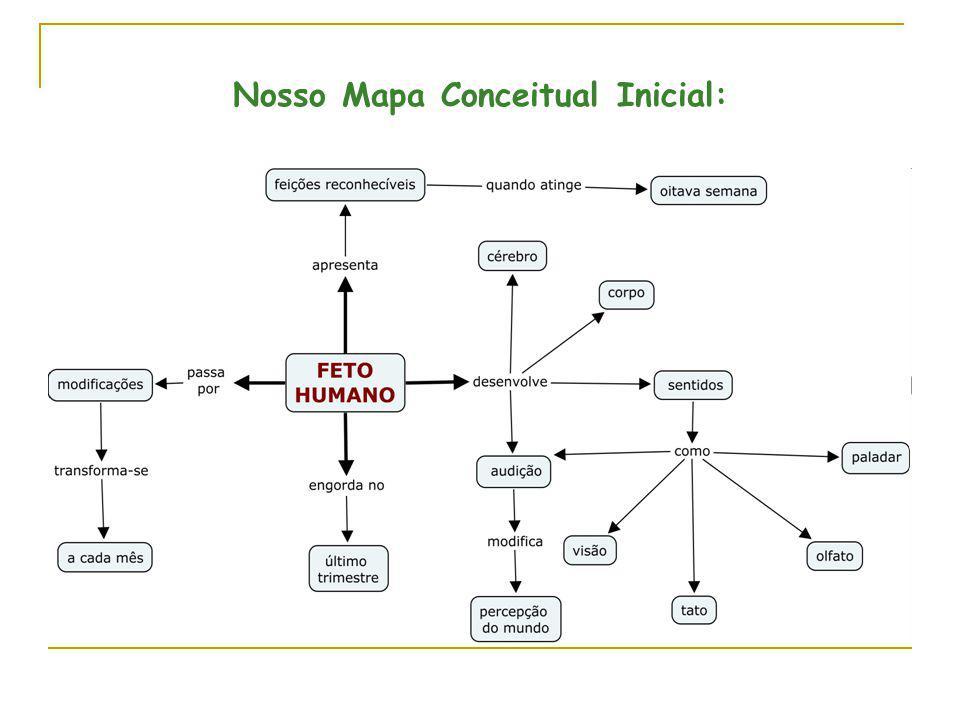 Nosso Mapa Conceitual Inicial: