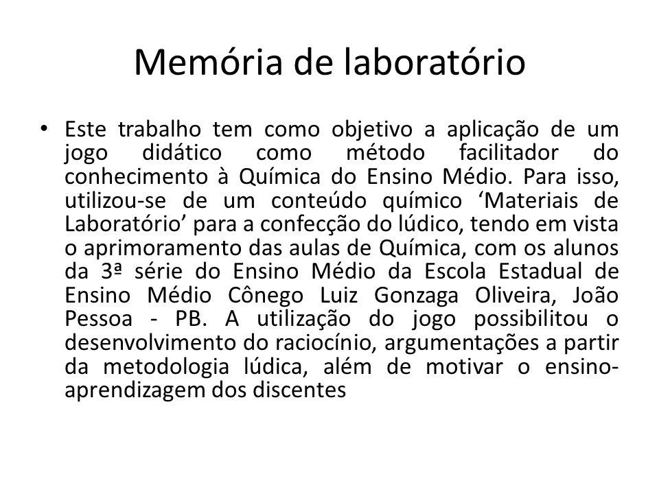 Memória de laboratório