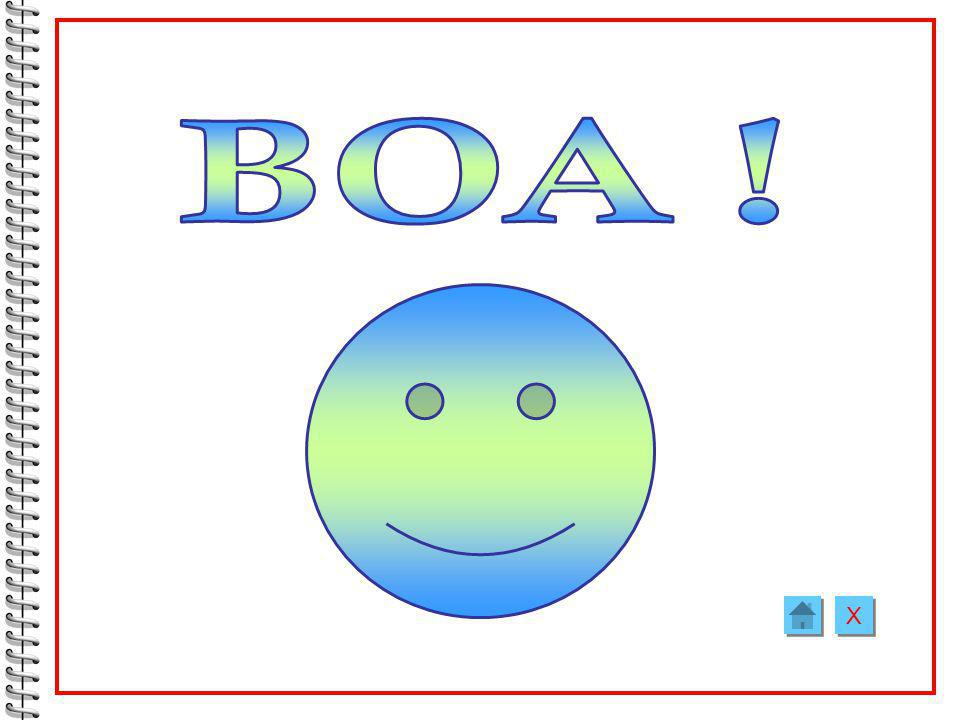 BOA ! X