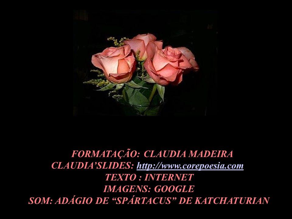 FFORMATAÇÃO: CLAUDIA MADEIRA CLAUDIA'SLIDES: http://www.corepoesia.com