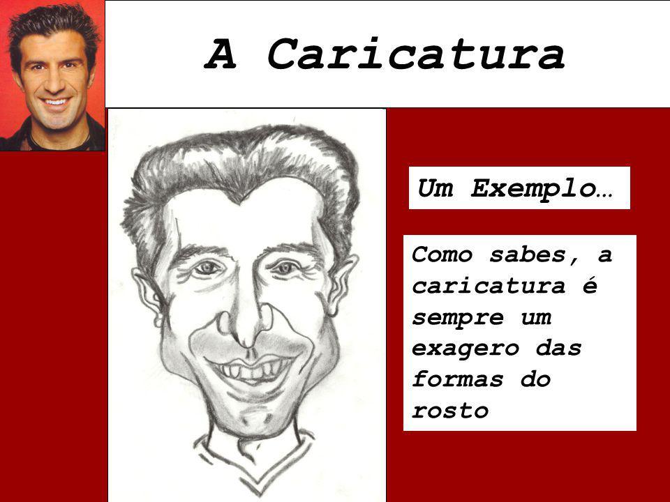 A Caricatura Um Exemplo…