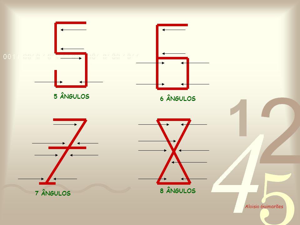 5 ÂNGULOS 6 ÂNGULOS 8 ÂNGULOS 7 ÂNGULOS