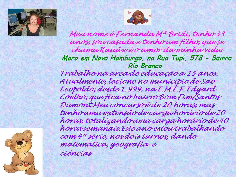 Moro em Novo Hamburgo, na Rua Tupi, 578 - Bairro Rio Branco.