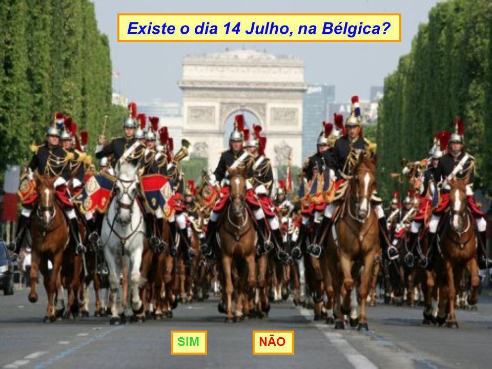 Existe o dia 14 Julho, na Bélgica