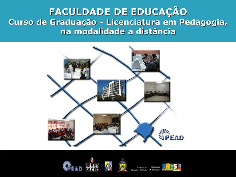 FACULDADE DE EDUCAÇÃO Curso de Graduação - Licenciatura em Pedagogia,