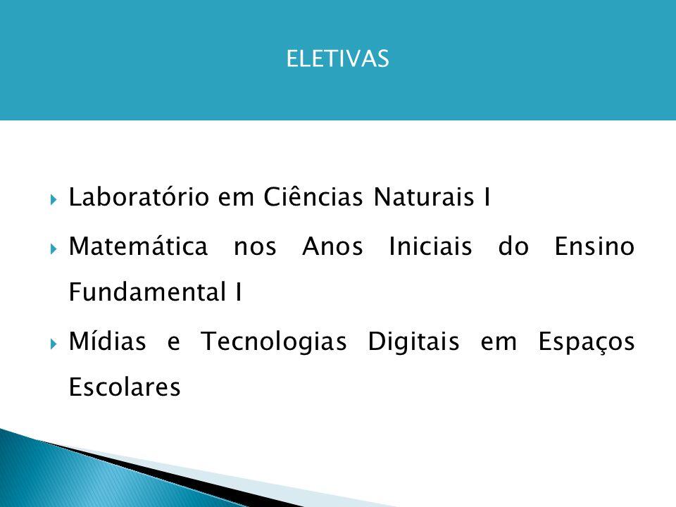 Laboratório em Ciências Naturais I