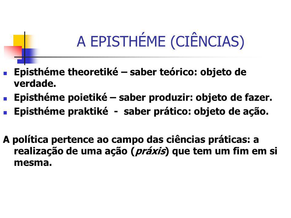 A EPISTHÉME (CIÊNCIAS)