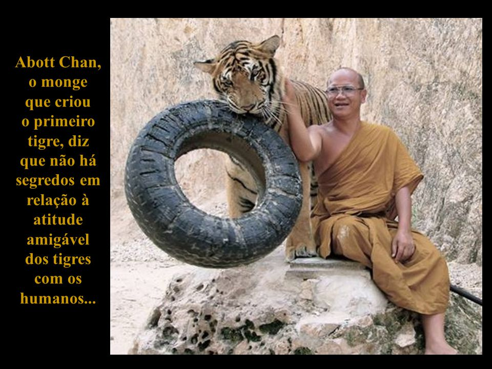 Abott Chan, o monge. que criou. o primeiro.