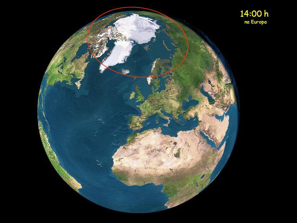 14:00 h na Europa