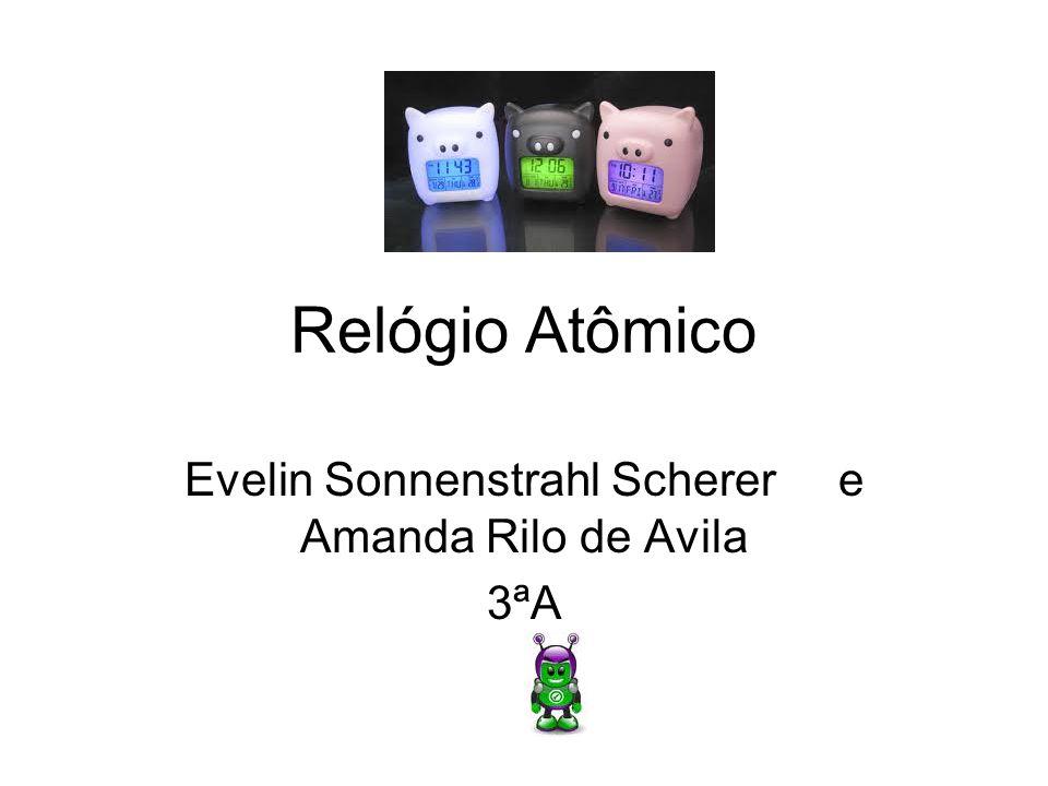 Evelin Sonnenstrahl Scherer e Amanda Rilo de Avila 3ªA