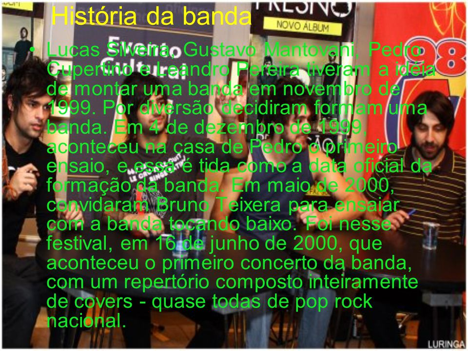 História da banda