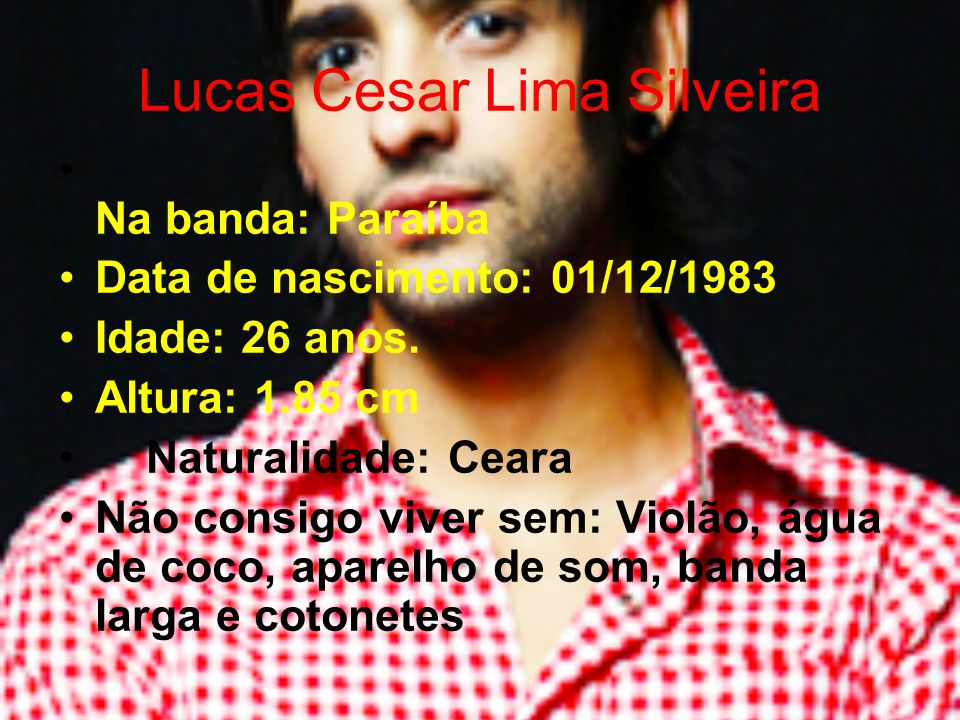 Lucas Cesar Lima Silveira
